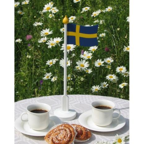 44624 Bordsflagga svensk 320 mm