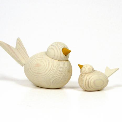 Fåglar antikvita