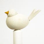 Fågel till hållare antikvit
