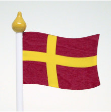 Bordsflagga Skånsk