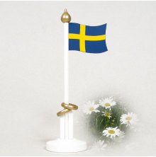 44625 Bröllopsflagga svensk 250 mm